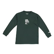 ジュニア ドライプラス 長袖Tシャツ 751G0CD1647 GRN