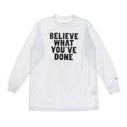 ジュニア ドライプラス 長袖Tシャツ 751G0ES1638  WHT