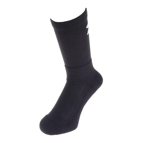 バスケットボール ソックス クルーソックス 1295598 メンズ ブラック×ホワイト 靴下