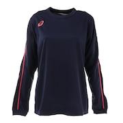 レディース バレーボールウェア Tシャツ 長袖 プラクティスロングスリーブトップ  2052A055.400 練習着