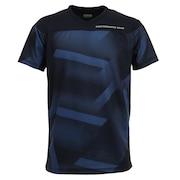 ドライプラス バレーシャツ 761PG0ES8211 NVY 【バレーボールウェア スポーツウェア メンズ】
