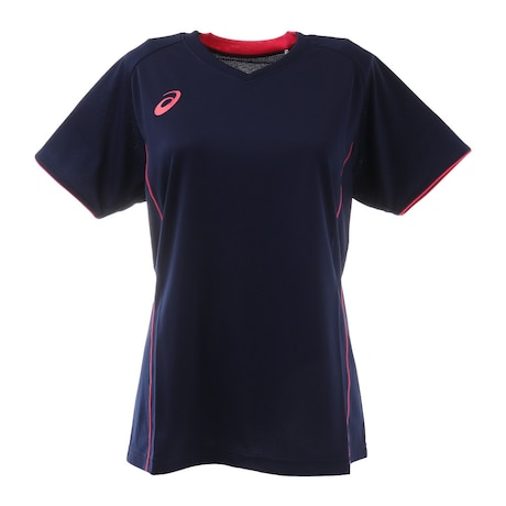 レディース バレーボールウェア Tシャツ 半袖 プラクティスショートスリーブトップス XW6748.50 練習着