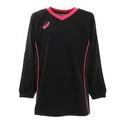 ジュニア バレーボールウェア Tシャツ 長袖 プラクティスロングスリーブトップス 2054A009.001 練習着