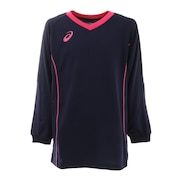 ジュニア バレーボールウェア Tシャツ 長袖 プラクティスロングスリーブトップス 2054A009.400 練習着