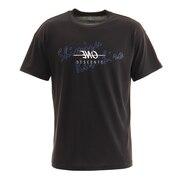 バレーボールウェア パナソニックパンサーズ 清水選手コラボTシャツ DX-B0956 BLK