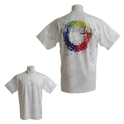 Tシャツ メンズ ドライプラス DONT GIVE UP THER 半袖Tシャツ 771G9ES5724 WT/RBW