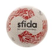 サッカーボール 5号球 (一般 大学 高校 中学校用) 検定球 VAIS NK Edition BSF-VN02 WHT/RED 5 自主練