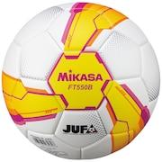 サッカーボール 検定球5号 貼り 大学サッカー連盟JUFA公式試合球 FT550B-YP-JUFA