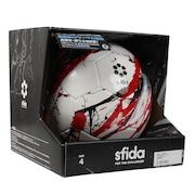 ジュニア サッカーボール 4号球 ヴァイス ULTIMO 4 SB-21VU04 WHT/RED 4