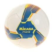 サッカーボール サッカーボールALMUND 検定球4号 手縫い FT451B-BLY