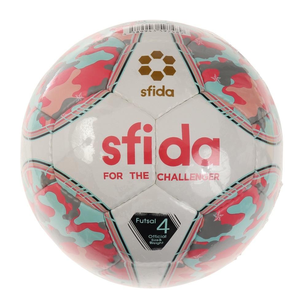 SFIDA フットサルボール インフィニート NEO BSF-IN22 PNK/SAX 4 4 174 フットサル
