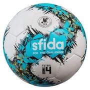 フットサルボール 4号球 インフィニート APERTO 4 SB-21IA02 WHT/TUQ 4