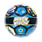 サッカーボール レトロ柄 HEROシリーズ ブラック・ウィドウ SB-21MV01