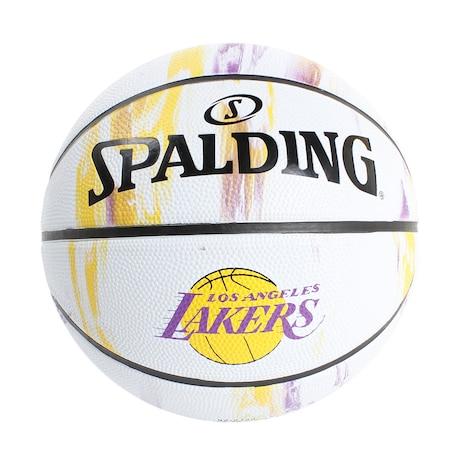 バスケットボール 7号球 (一般 大学 高校 中学校) 男子用 レイカーズ マーブル7 83-933J 自主練