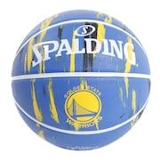 バスケットボール 7号球 (一般 大学 高校 中学校) 男子用 ウォーリアーズ マーブル7 83-935J 自主練