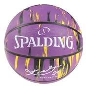 バスケットボール 7号球 (一般 大学 高校 中学校) 男子用 コービーブライアント マーブル ラバー 84-005Z