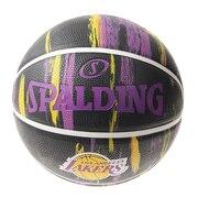 バスケットボール 7号球 (一般 大学 高校 中学校) 男子用 レイカーズ 84-095J