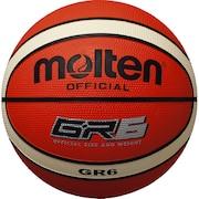 バスケットボール 6号球 (一般 大学 高校 中学校) 女子用 GR6 BGR6-OI 自主練