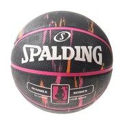 バスケットボール 6号球 (一般 大学 高校 中学校) 女子用 フォーハー マーブル 83-875Z 自主練