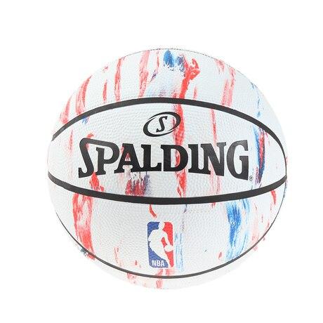 バスケットボール 5号球 (小学校用) ジュニア NBAロゴ マーブル ラバー NBAロゴ入り 83-928J 自主練