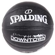 バスケットボール 5号球 (小学校用) ジュニア ダウンタウン PU コンポジット ブラック 76-587J