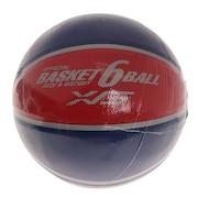 バスケットボール6号 781G1ZK5886 NVYRED
