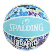 バスケットボール 6号球 グラフィティ ブルー 6号球 84-529J