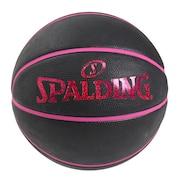 バスケットボール ホログラム ブラック×ピンク 6号球 84-534J