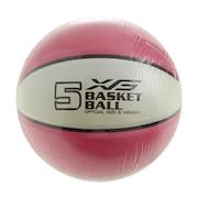 バスケットボール 5号球 (小学校用) ジュニア 781G5ZK6621PNK 自主練