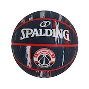 バスケットボール 5号球 (小学校用) ジュニア ウィザーズ マーブル ラバー 84-153J