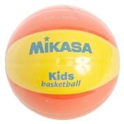 スマイルバスケット 5号球 イエロー/オレンジ SB512-YO 自主練