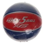 バスケットボール 5号球 781G1ZK5887 NVYRED
