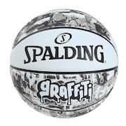 バスケットボール 5号球 グラフィティ ホワイト 5号球 84-523J