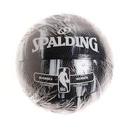 バスケットボール 1号球 (ミニボール) マーブルブラック SZ1 84-144J 自主練