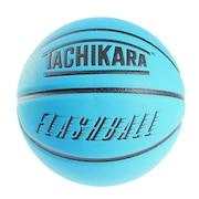 バスケットボール 7号球 FLASHBALL ネオンブルー SB7-242 送料無料