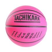 バスケットボール 7号球 FLASHBALL ネオンピンク SB7-243