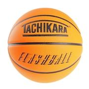 バスケットボール 7号球 FLASHBALL ネオンオレンジ SB7-244