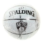 バスケットボール1号球(ミニボール) ネッツ マーブル SZ1 65-124J