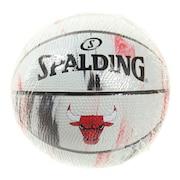 バスケットボール1号球(ミニボール) ブルズ マーブル SZ1 65-126J
