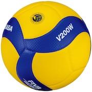 バレーボール 5号球 (一般用・大学用・高校用) 国際公認球 検定球 V200W 自主練 練習