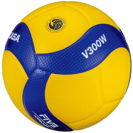 バレーボール 5号球 (一般用・大学用・高校用) 国際公認球 検定球 V300W 自主練 練習