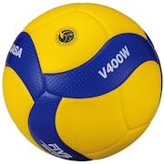 バレーボール 4号球 (中学校用・家庭婦人用) 検定球 試合球 V400W 自主練 ママさん