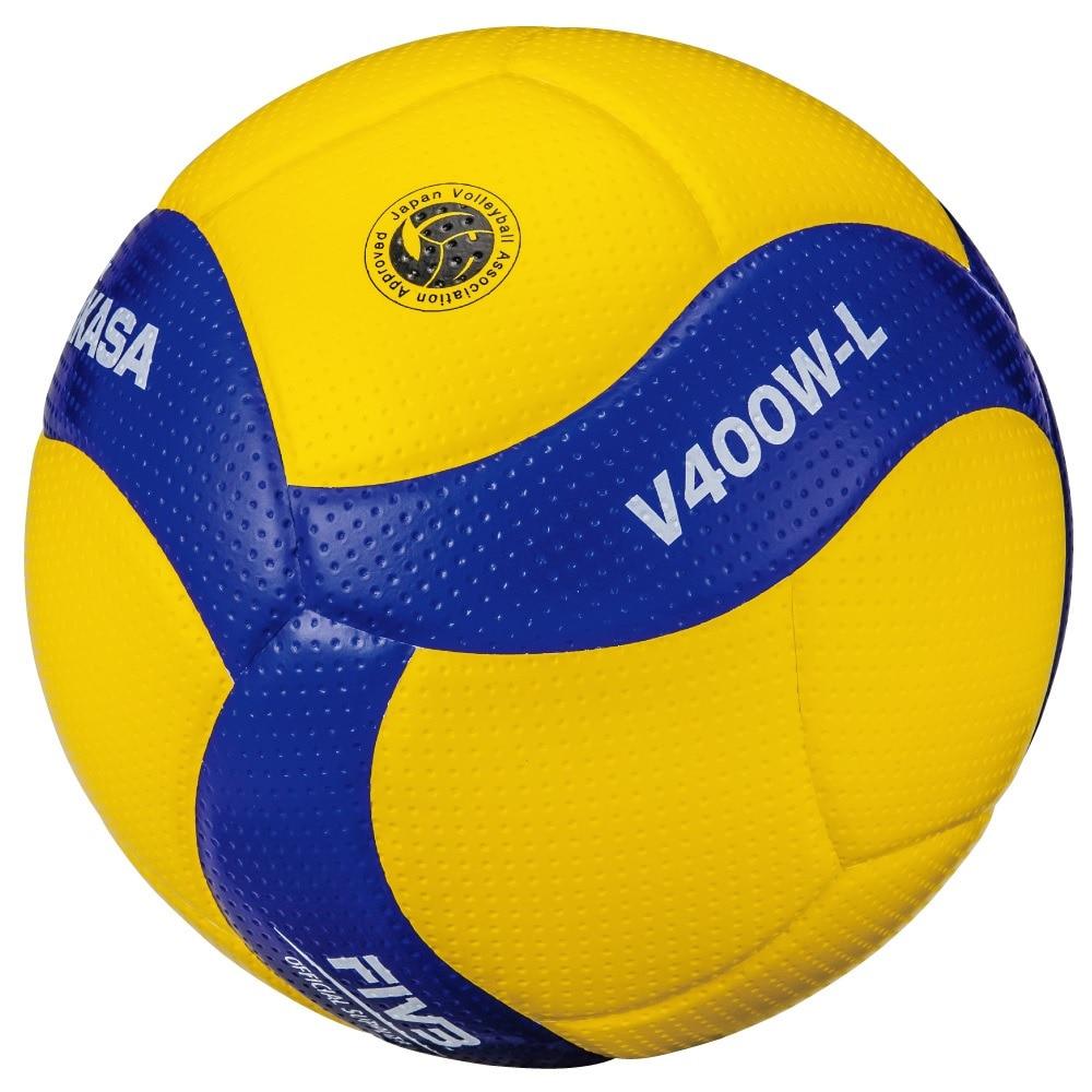 MIKASA バレーボール 4号軽量球 (小学校用) 検定球 V400W-L 自主練 4 125 バレーボール