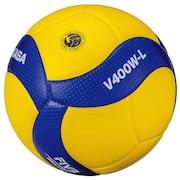 バレーボール 4号軽量球 (小学校用) 検定球 V400W-L 自主練