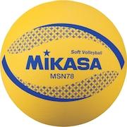 ソフトバレーボール 78cm 公認球 MSN78-Y 自主練