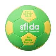 サッカーボール   ソフトサッカーボール BSF-SHS GRN 3号球