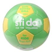 キッズ EVAボール 軽量3号 ソフトサッカーボール BSF-SHS GRN 3