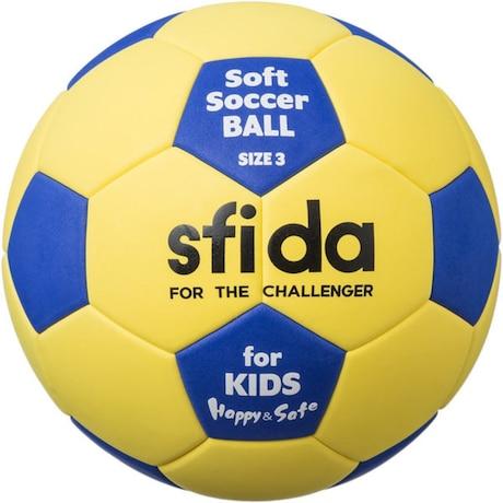 キッズ ソフトサッカーボール 軽量3号 BSF-SHS YEL 3