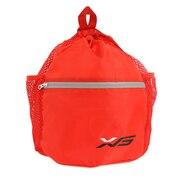 メッシュポケット付き ボールケース 781G5SL3400 RED