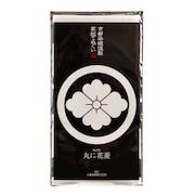 京都染織謹製 家紋てぬぐい 丸に花菱 Z-00316